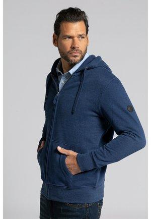 Zip-up hoodie - indigo foncé