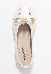 Walnut - CATIE UNICORN - Ballet pumps - pearl - 1