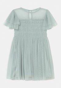 Anaya with love - GATHERED BODICE RUFFLE DRESS - Vestido de cóctel - pale blue - 0