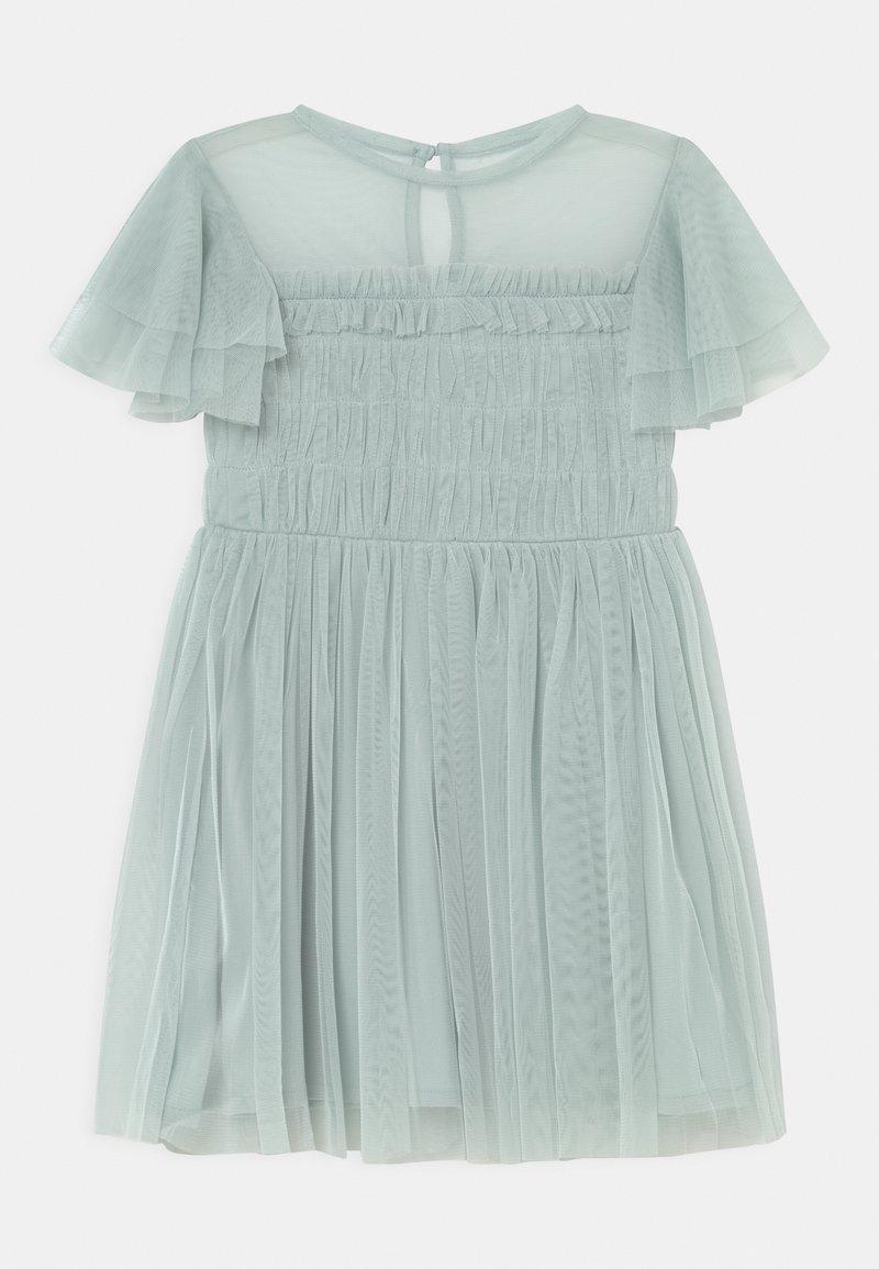 Anaya with love - GATHERED BODICE RUFFLE DRESS - Koktejlové šaty/ šaty na párty - pale blue