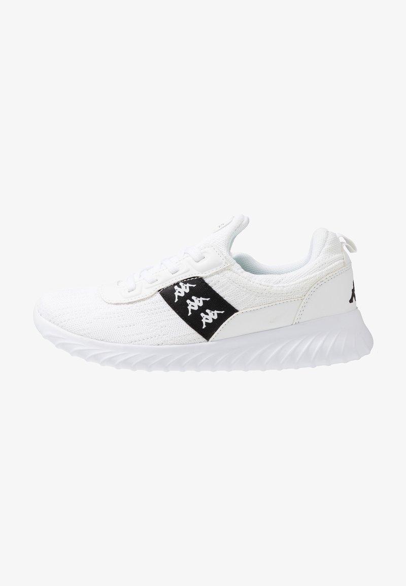 Kappa - MODUS II - Kuntoilukengät - white/black
