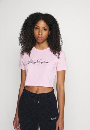 SCRIPT SOPHIE - Print T-shirt - almond bloom