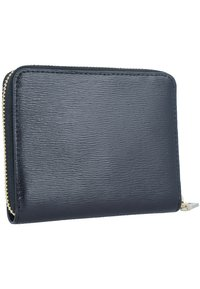DKNY - BRYANT ZIP AROUND LOGO - Monedero - black - 1