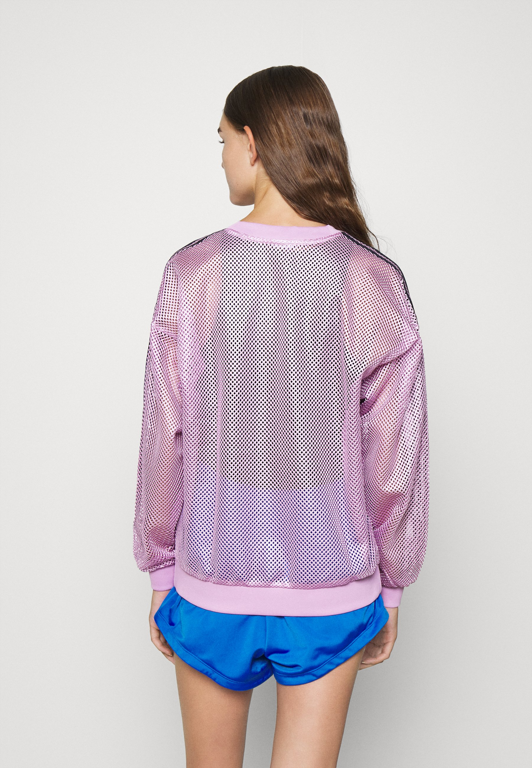 Adidas Originals Crew Sports Inspired - Topper Langermet Magic Berry/lilla