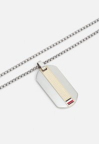 Tommy Hilfiger - TWO TONE DOG TAG  - Kaulakoru - silver-coloured/gold-coloured