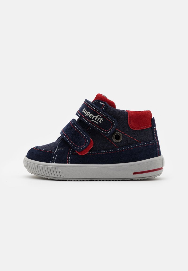 Superfit - MOPPY - Baby shoes - blau/rot