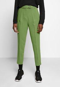 Benetton - TROUSERS - Trousers - khaki - 0