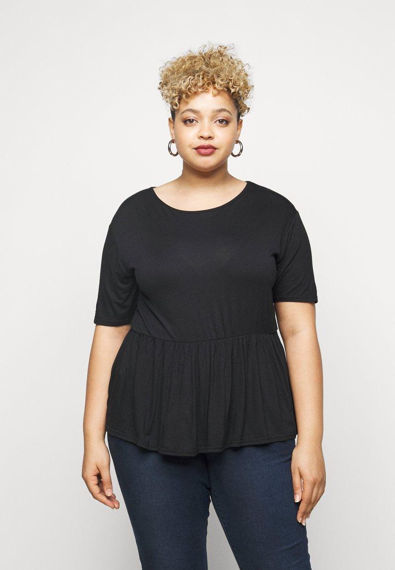Simply Be - Print T-shirt - black