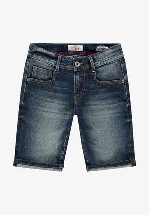 JOG - Denim shorts - mid blue wash