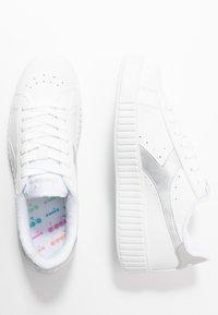 Diadora - GAME STEP  - Trainers - white/silver - 3