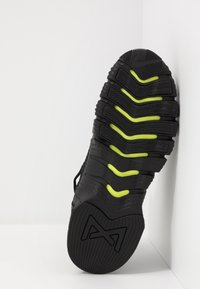 Nike Performance - FREE METCON 3 - Sports shoes - black/anthracite/volt - 4