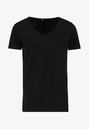 MALIK - T-shirt basic - black