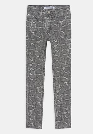 SKINNY WASHED REPTILE  - Jeans Skinny Fit - grey