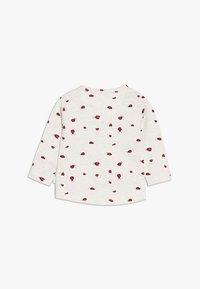 Noppies - TEE SLIM CARY BABY - Long sleeved top - whisper white melange - 1