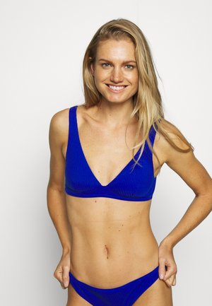 ISABEL TRIANGLE - Bikini top - bleu royal