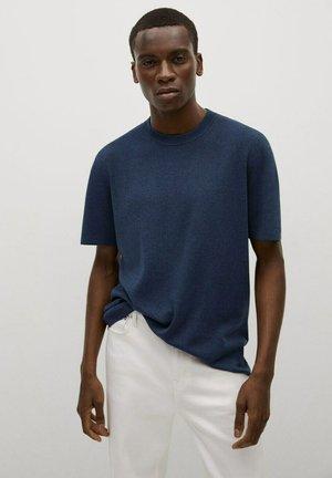 Jednoduché triko - marineblauw