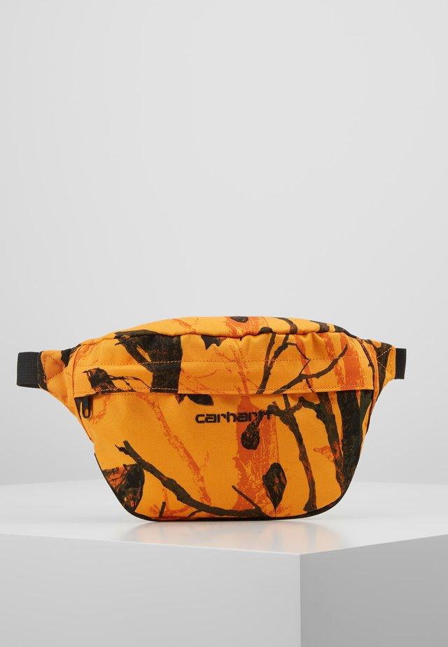 PAYTON HIP BAG - Bum bag - tree/orange/black