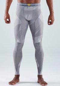 Skins - Leggings - grey geo - 0