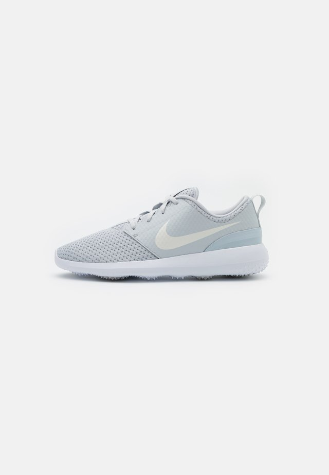 ROSHE G - Golf shoes - pure platinum/metallic white/white