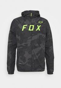 Fox Racing - MOTH CAMO WINDBREAKER - Windbreaker - black - 0