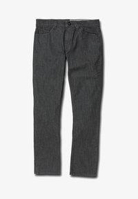 Volcom - VORTA DENIM - Straight leg -farkut - grey - 3