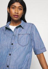 JDY - JDYPOPPY LIFE LONG DRESS - Maxi dress - medium blue denim - 3