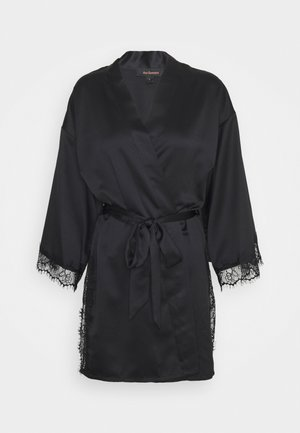 CHERRYANN ROBE BLACK - Dressing gown - black