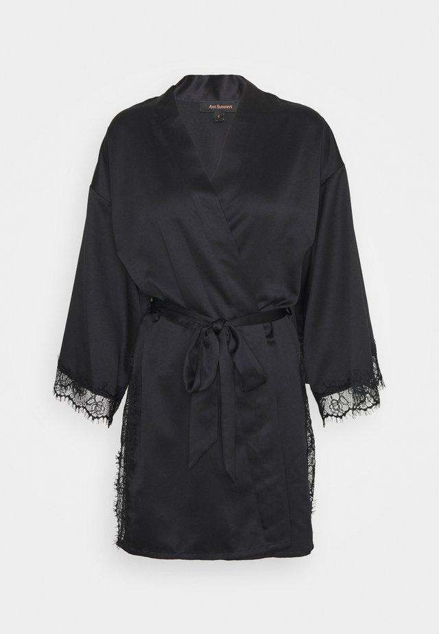 CHERRYANN ROBE BLACK - Peignoir - black