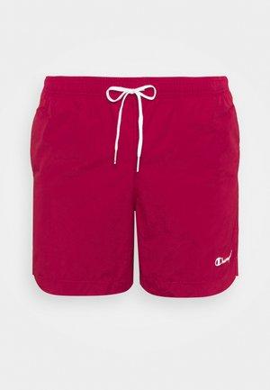 Shorts da mare - bordeaux