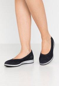 Gabor - Ballet pumps - pazifik - 0