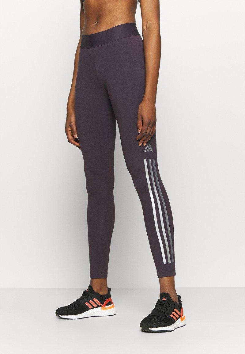 adidas Performance - GLAM - Leggings - purple