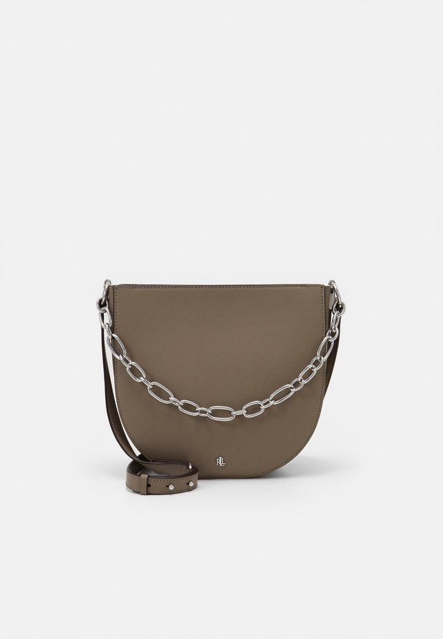 SAWYER SHOULDER MEDIUM - Handbag - taupe