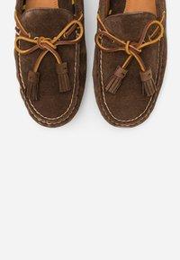 Polo Ralph Lauren - ANDERS LOAFR DRIVER - Mokasíny - chocolate brown - 5