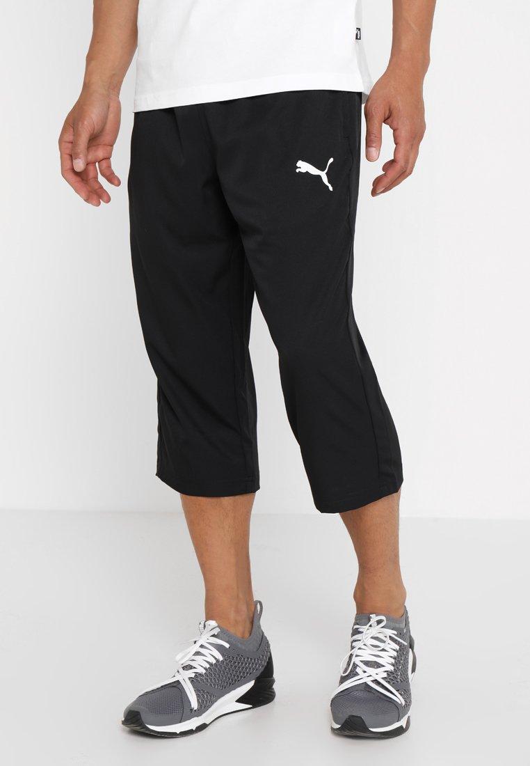 Puma - ACTIVE Pants - 3/4 sports trousers - puma black