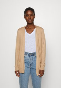 Anna Field - BASIC- Pocket cardigan - Kardigan - camel - 0