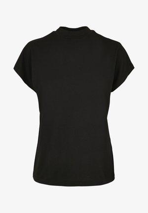 CUT ON SLEEVE - Basic T-shirt - black