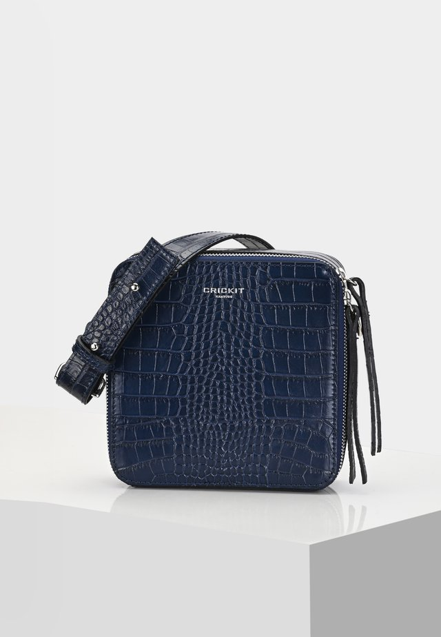 UMHÄNGETASCHE DINA UMHÄNGETASCHE - Across body bag - blau