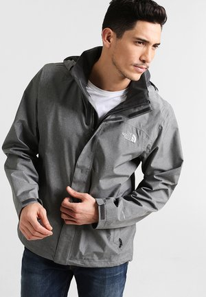 SANGRO JACKET - Hardshelljacka - medium grey heather