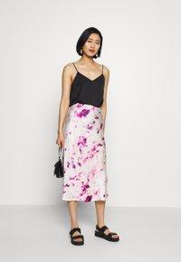 Bardot - KENDAL BIAS SKIRT - A-line skirt - purple - 1