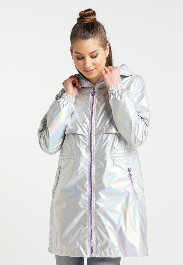 Parkas - silver holographic