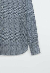 Massimo Dutti - SLIMFIT - Shirt - blue - 4