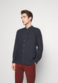 120% Lino - Shirt - blue navy - 0