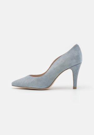 COURT SHOE - Classic heels - denim