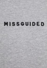 Missguided Petite - HOODIE AND JOGGER SET - Zip-up hoodie - grey - 5