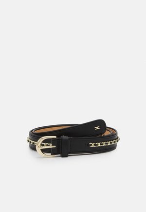 BRAIDED CHAIN BELT - Cintura - nero