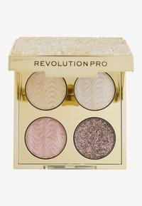 Revolution PRO - ULTIMATE CRYSTAL EYE QUAD - Palette occhi - champagne crystal - 1