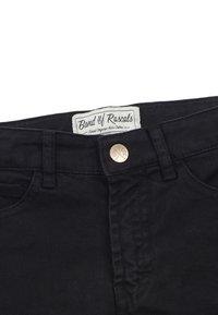 Band of Rascals - Straight leg -farkut - black - 2