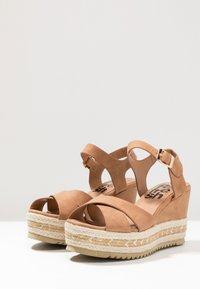 Refresh - High heeled sandals - camel - 4