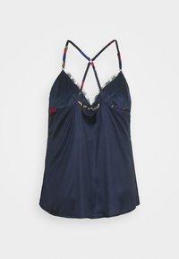 Simply Be - PRETTY SECRETS BOUTIQUE CROSS BACK CAMI - Pyjamas - dark blue - 2