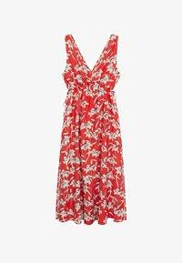 Mango - Day dress - rojo - 6